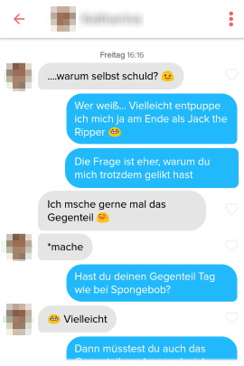Tinder Online Dating Müde
